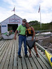 Captain John with Debi Libuda.
