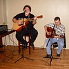 """Rick Barnes, """"The Guitar Man"""", and friend play some great tunes throughout the evening."""