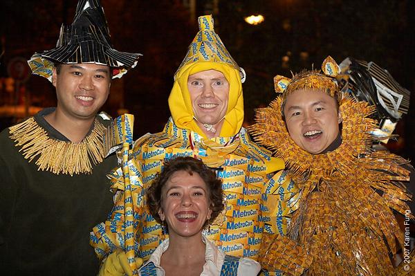 2007 Metrocard Wizard of Oz (Village Halloween Parade)
