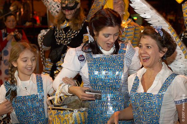Leta, Amy and Christine as Dorothy