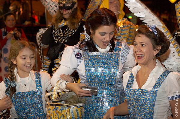 Leta, Amy and Christine as Dorothy