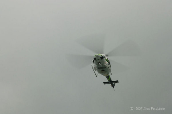 Miami-Dade Air Rescue does a fly-by
