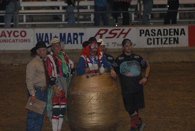 World Class BullFighters @ the 2007 Pasadena Rodeo PBA