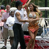 """Dancing with the Stars"" dancers Edyta Sliwinska and Alec Mazo"