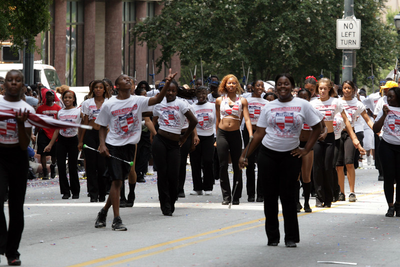 "Morris Brown ""Precision Incorporated"" Summer Camp Marching Band"