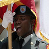 Armed forces color guard