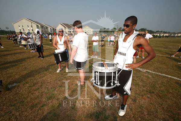 2007 Marching Band Practice