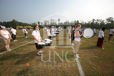 2007 marching band practice directed by Martin Spitzer at UNCP on August 9th, 2007 Marching_band_0019.JPG