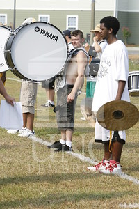 2007 marching band practice directed by Martin Spitzer at UNCP on August 9th, 2007 Marching_band_0068.JPG