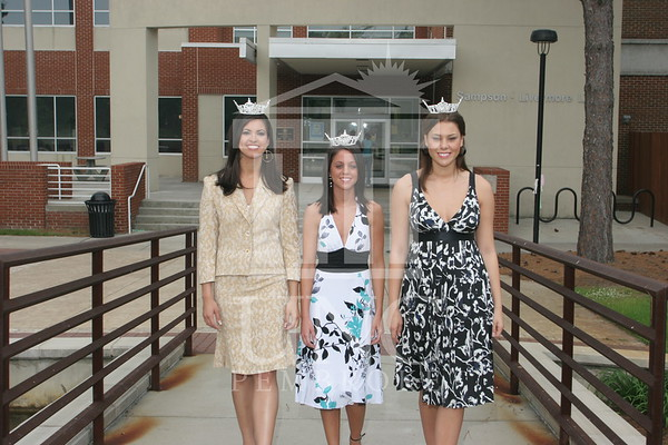 2007 Miss UNCP Pageant Girls