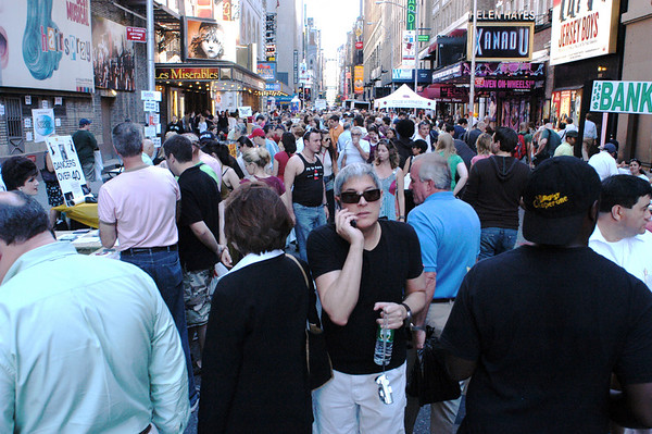 Broadway Cares Flea Market - 9/23/07