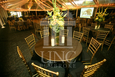 Football Gala held in the Jones Athletic Center at UNCP in Pembroke, NC.