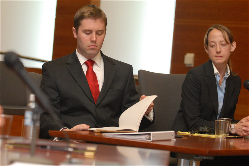 The prosecution team: Carr & Cormier Anderson.