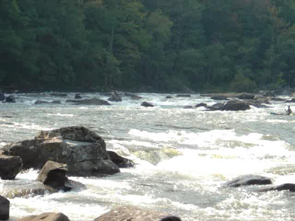 Rapid on the Lower Gauley