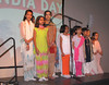 Children singing 'Ragupati ragav raja Ram'