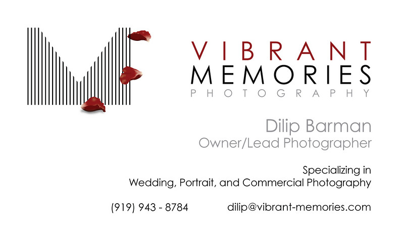 Business Card - Dilip Barman