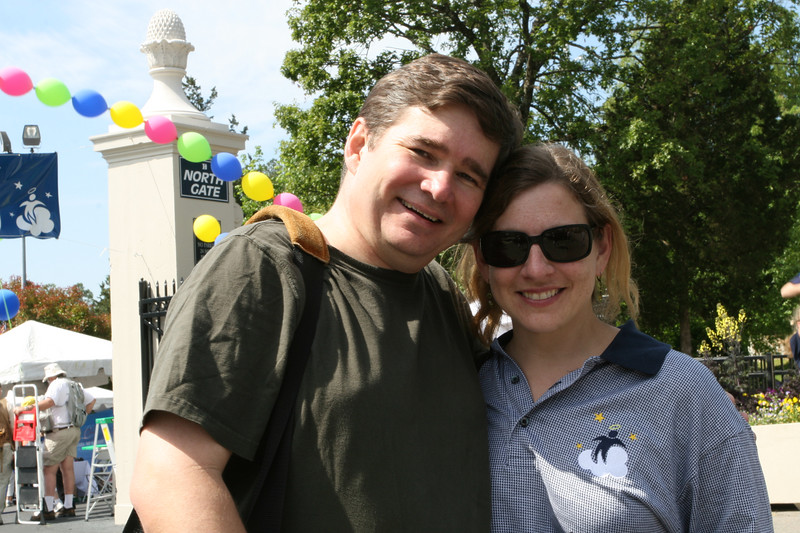 Tann and Leslie Chesley, 1101am {copyright 2007, Dilip Barman}