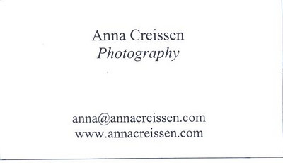 Anna Creissen Photography Card 3