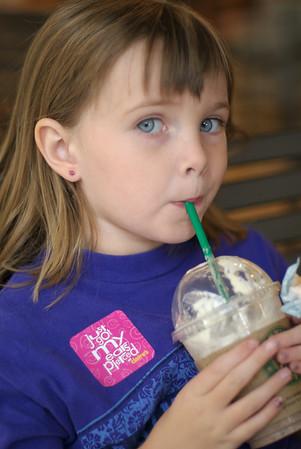 20070609 Kelly gets her ears pierced