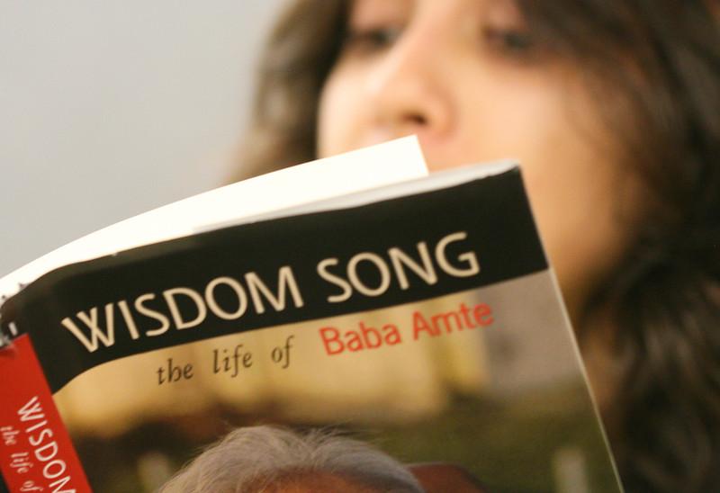 20070805 Duke grad student Souyma reading from 'Wisdom Song'