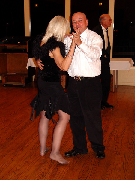 Amnon Levy kicking up his heels on the dance floor!