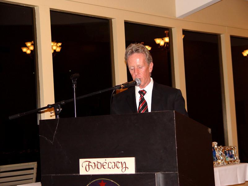 Master of Ceremony, Jim Keeton