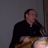 Fr. Ed Fride, pastor of Christ The King Parish in Ann Arbor speaking at 2008 Serra Dinner for Seminarians.