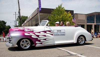 Raymond Witaske was the grand marshal of the Coon Creek Country Days parade in Hampshire on Sunday, August 3.