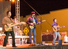 Rocochet takes the stage on a cold night in Artesia, NM. It was about 25 degrees when they took the stage on 12/31/2008 at 1045PM. Pictured is Greg, Heath, Kenny, and Dawayne in the back.
