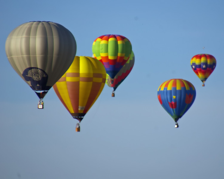 Balloons take flight over Roswell, NM