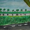 Sohini's landscape in watercolour