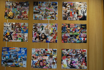 Collage done by students