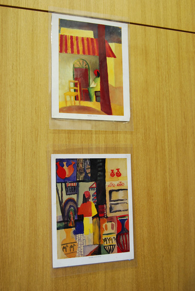Paintings by students