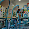 View of Sohini's classroom