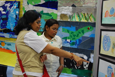 Maitreyee and Sohini discuss the paintings