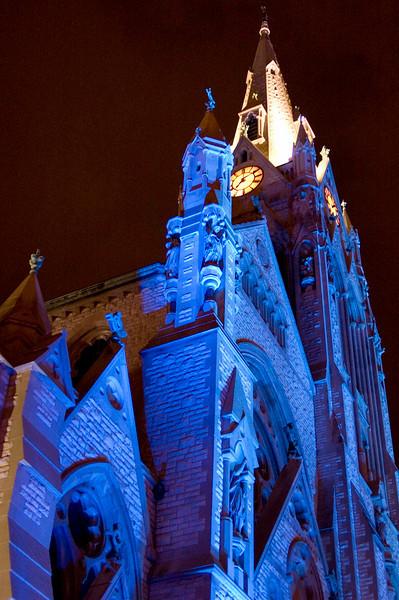 St. Francis Xavier College Church, St. Louis <br /> Photo by RL