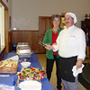 """Susie & Tim Stewart cooked a fantastic """"spaghetti feed"""" for those who attended!"""