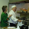 """Susie and Tim Stewart of """"Tim Stewart Catering"""" created a fantastic spaghetti feed!"""