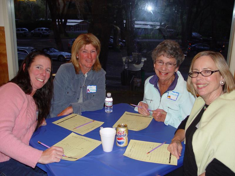 "Kelly Perry, Joan McLaren, Carolyn (Kelly's Mom) and Elizabeth Sullivan -- The ""Webb Ranch"" Girls!"