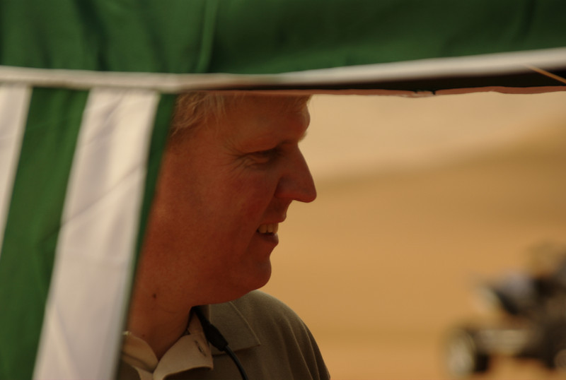 Frits from the Netherlands, joined us for a camping session in Liwa.