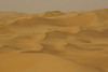 Another view, looking down at the dunes of the Liwa desert.