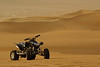 Sean's quad out in the Liwa desert in the UAE. Ready for action!