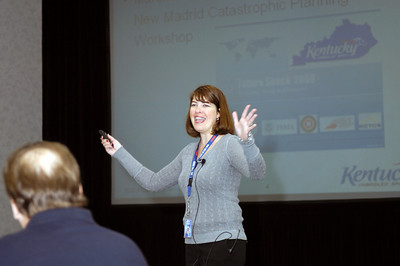 Lori King presents at the 2008 Kentucky EMS Conference, Sloan Convention Center, Bowling Green KY