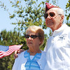 Camarillo residents John Katuzney (U.S. Air Force, retired) and his wife Norma.  He was a P.O.W. for 2 years during WWII.
