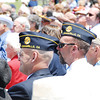 Camarillo residents Mike Hoffman (left) (US Navy, retired) and Rick Carroll (Us Army, retired) were among the hundreds of those who attended the service.  Mr. Hoffman is the Sgt. of Arms with Post 741, and Mr. Carrol is the Incoming Commander with Post 741 based in Camarillo.