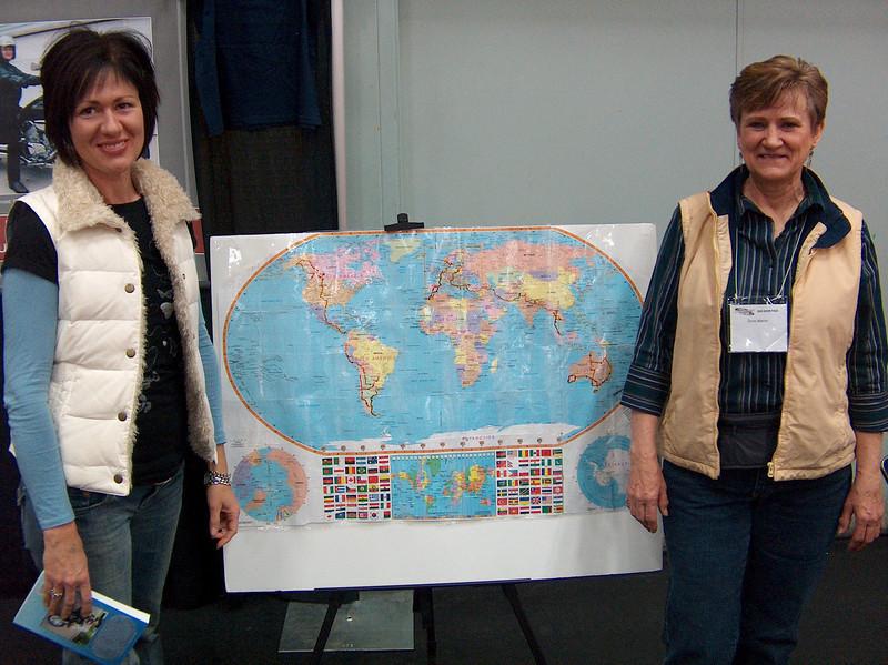 Doris Maron - Untamed Spirit her ride around the world in 2001-2004