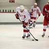Record-Eagle/Jan-Michael Stump<br /> Mattias Ritola at the Red Wings Prospect Camp Friday at Centre ICE Arena.