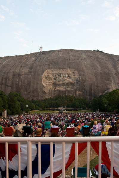 2008 Fireworks at Stone Mountain Park, Atlanta, Georgia