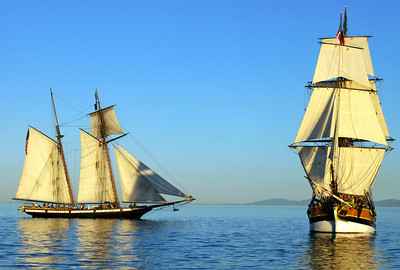 The Lady Washington and Lynx