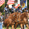 SMCHA Junior Color Guard doing a fantastic job riding along the parade route.